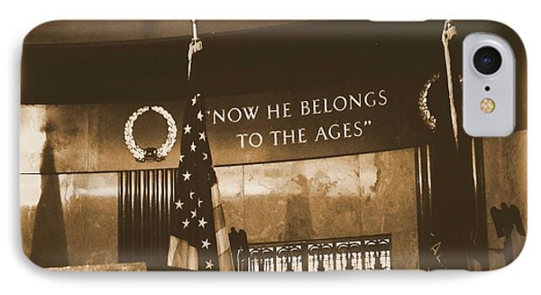 IPhone Case featuring the photograph Now He Belongs To The Ages by Luther Fine Art