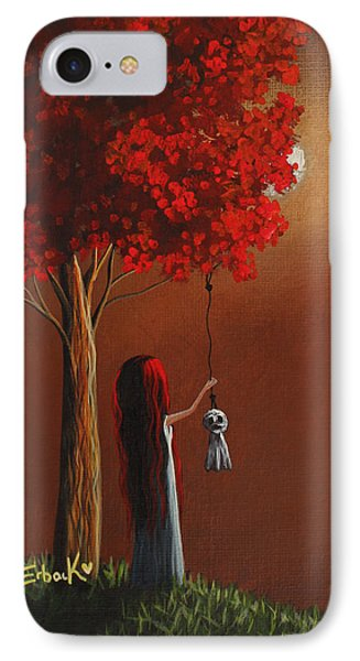 Now She Won't Be Alone 3 Original Artwork IPhone Case by Shawna Erback