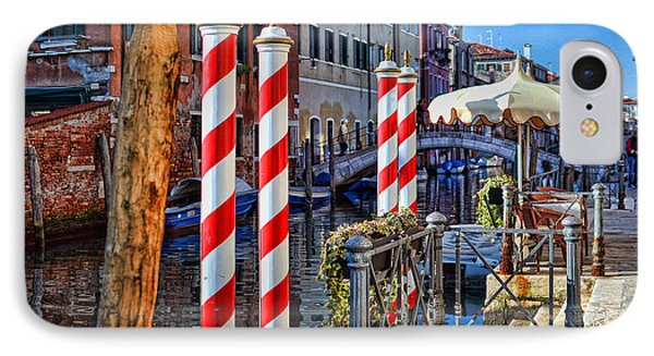 Now Thats A Barbers Pole IPhone Case by Graham Hawcroft pixsellpix