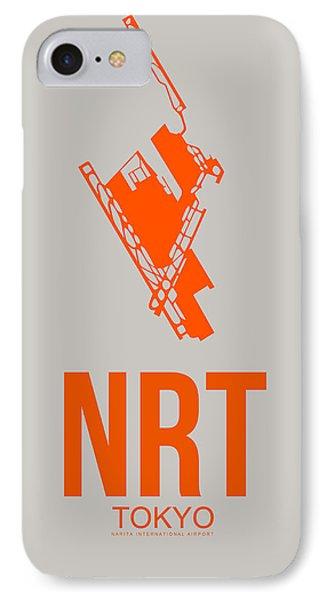 Nrt Tokyo Airport 1 IPhone Case by Naxart Studio