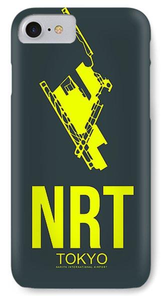 Nrt Tokyo Airport Poster 2 IPhone Case by Naxart Studio