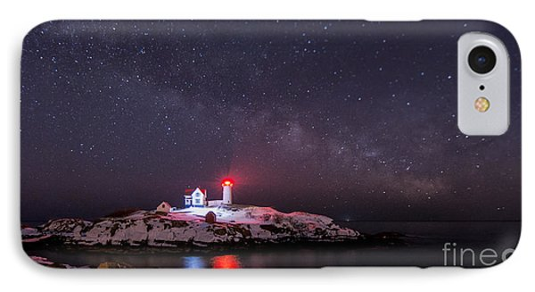 Nubble And The Milkyway IPhone Case by Scott Thorp