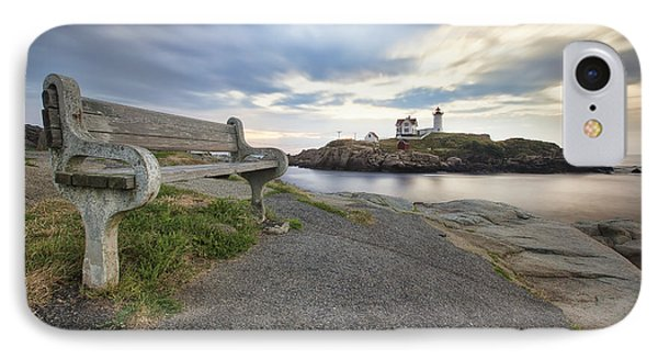 Nubble Bench Phone Case by Eric Gendron