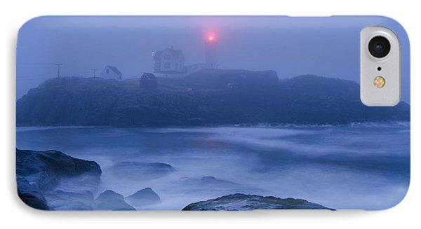 Nubble Light In Foggy Dawn IPhone Case