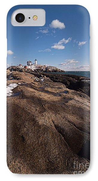 Nubble Light Portrait IPhone Case by Sharon Seaward