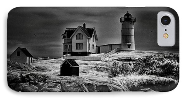 Nubble Night IPhone Case by Tricia Marchlik