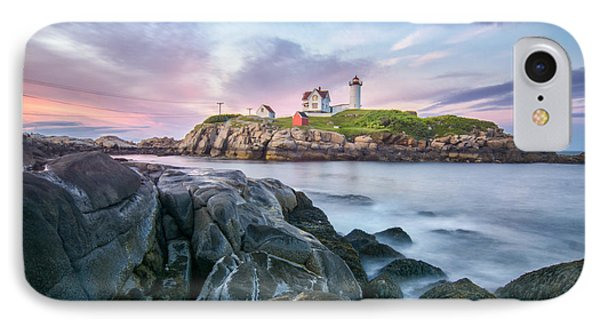 Nubble Sunset IPhone Case by Scott Thorp