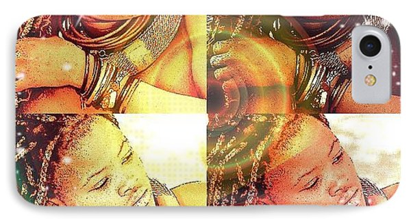 Nubian Beauty IPhone Case