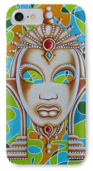 Nubian Modern Ivory Mask  IPhone Case