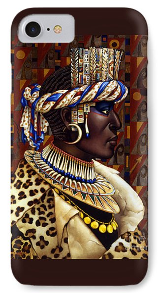 Nubian Prince Phone Case by Jane Whiting Chrzanoska
