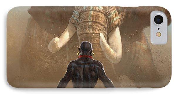 Nubian Warriors IPhone Case