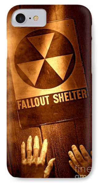 Nuclear Disaster Phone Case by Olivier Le Queinec