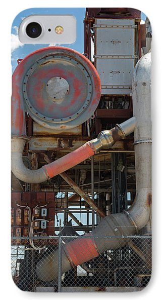 Nuclear-powered Jet Test Stand IPhone Case by Jim West