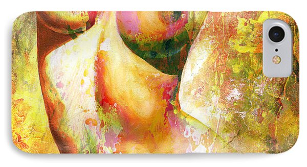 Nude Details - Digital Vibrant Color Version Phone Case by Emerico Imre Toth