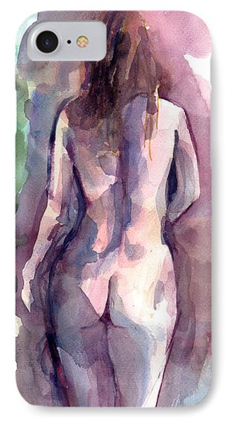 Nude IPhone Case by Faruk Koksal