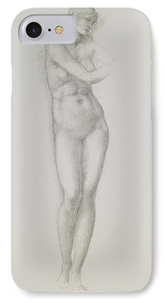 Nude Female Figure Study For Venus From The Pygmalion Series IPhone Case