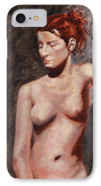 Nude French Woman IPhone Case