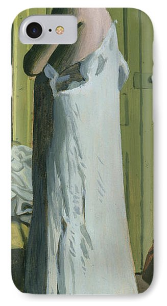 Nude In An Interior IPhone Case by Felix Edouard Vallotton