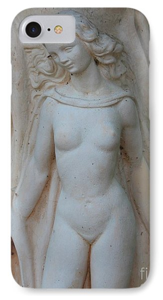 Nude Lady Statue IPhone Case by Cynthia Snyder