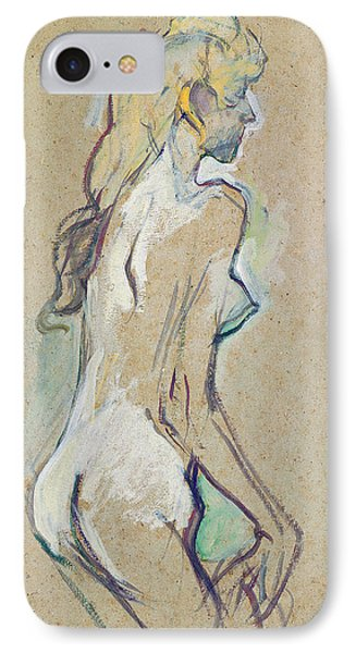 Nude Young Girl IPhone Case