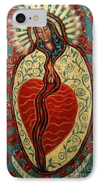 Nuestra Senora De Guadalupe Phone Case by Maya Telford