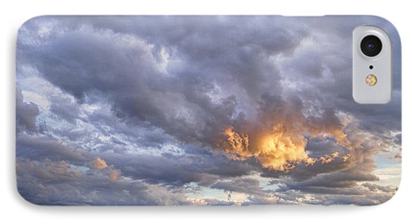 Nugget Of Gold In The Colorado Sky  IPhone Case by James BO  Insogna
