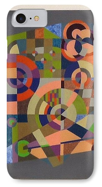 IPhone Case featuring the painting Number 2 by Hang Ho