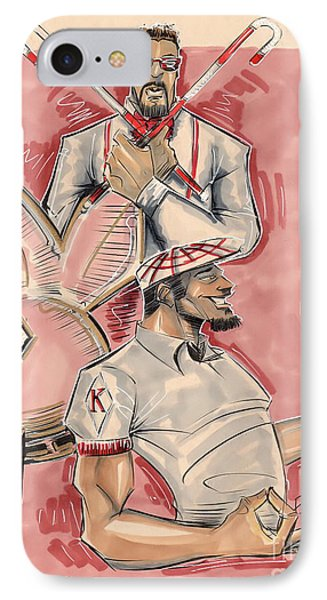 Nupes IPhone Case by Tu-Kwon Thomas