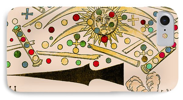 Nuremberg Ufo 1561 IPhone Case by Science Source