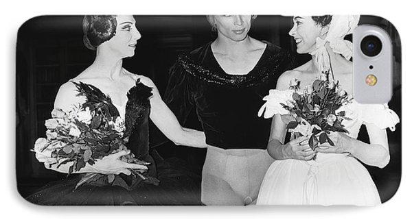 Nureyev And Fonteyn IPhone Case by Underwood Archives