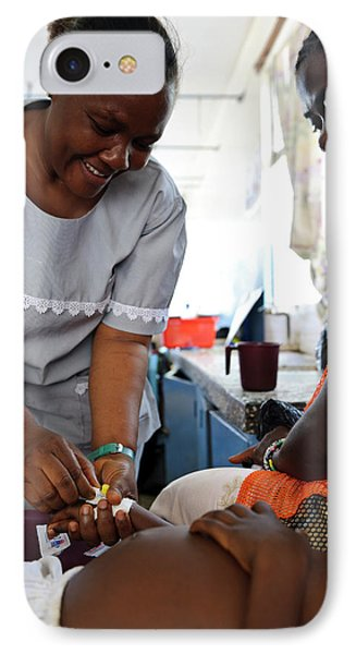 Nursing In Sierra Leone IPhone Case
