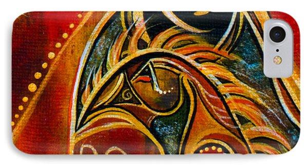 Nurturer Spirit Eye IPhone Case by Deborha Kerr