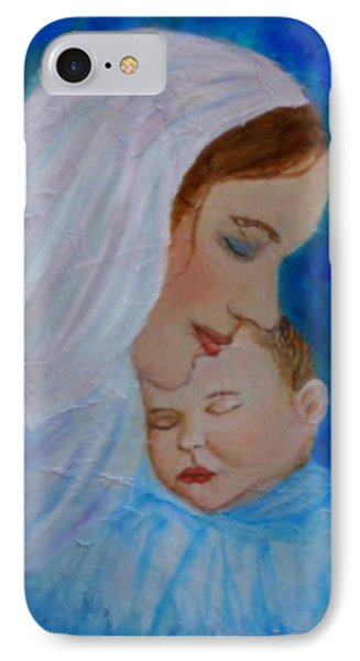 Nurturing Love Of A Mother  Phone Case by The Art With A Heart By Charlotte Phillips