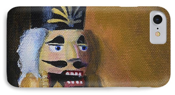 Nutcracker II IPhone Case by Donna Tuten