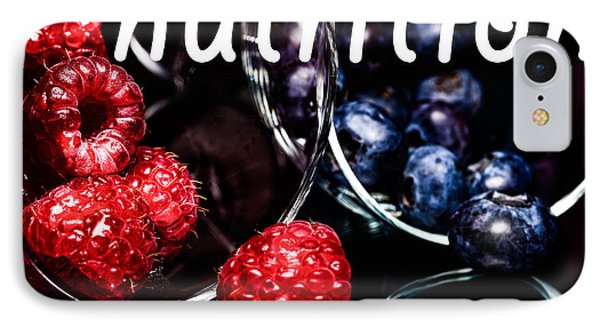 Nutrition IPhone Case by Tommytechno Sweden