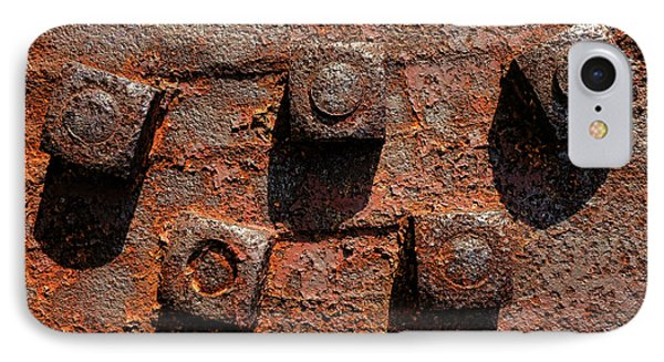 Nuts And Rust IPhone Case by Olivier Le Queinec