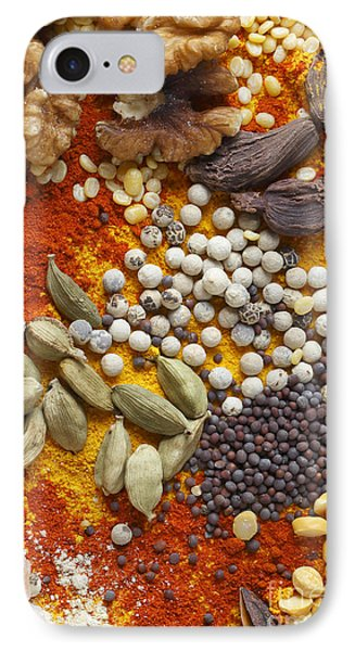 Nuts Pulses And Spices IPhone Case by Paul Cowan