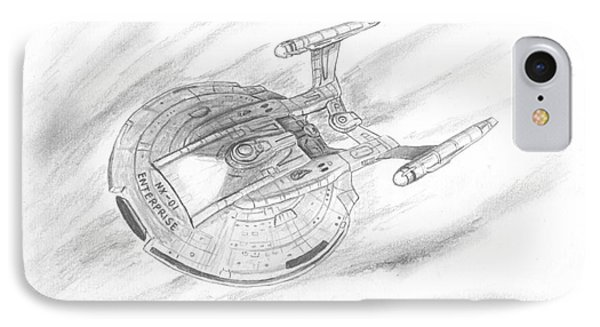 Nx-01 Enterprise Phone Case by Michael Penny