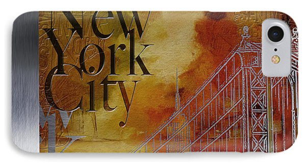 Ny City Collage - 6 IPhone Case by Corporate Art Task Force