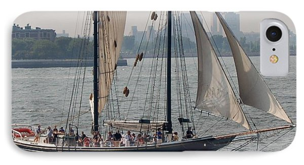 Ny Harbor Schooner IPhone Case