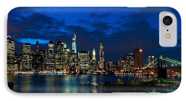 Ny Skyline From Brooklyn Heights Promenade IPhone Case