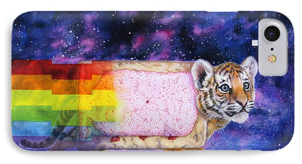 Nyantiger Nyancat Two Point Oh Phone Case by David Starr