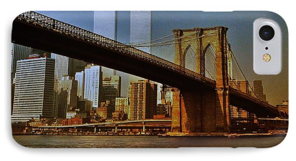 Nyc 1976 IPhone Case by Benjamin Yeager