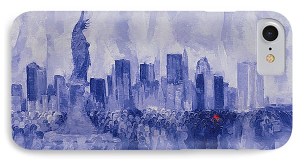 NYC IPhone Case by Bayo Iribhogbe