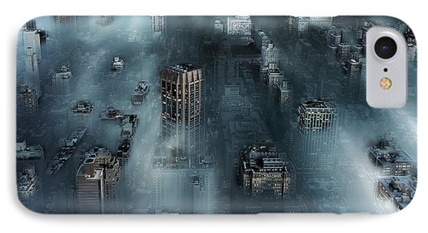 Nyc Blue IPhone Case