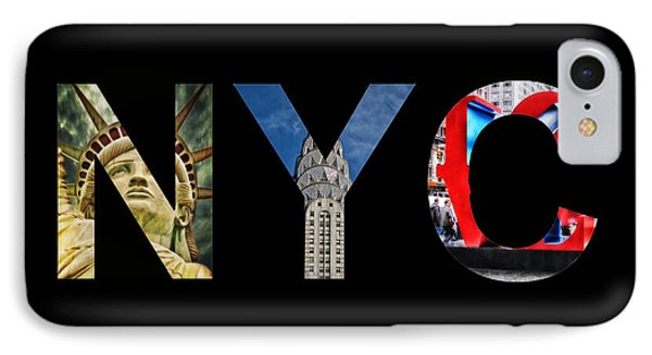 Nyc  IPhone Case by Celestial Images