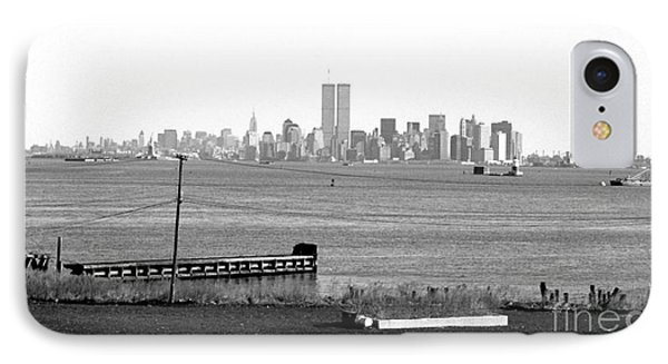 Nyc In The Distance 1990s IPhone Case
