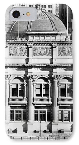 Nyc, New York Clearing House, 1912 IPhone Case by Science Source