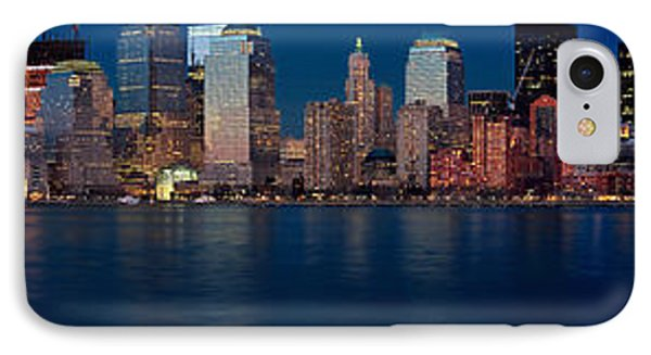 IPhone Case featuring the photograph Nyc Pano by Jerry Fornarotto