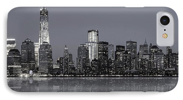 Nyc Skyline Phone Case by Eduard Moldoveanu